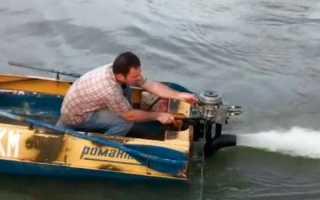 Как сделать водомет для лодки своими руками: чертеж
