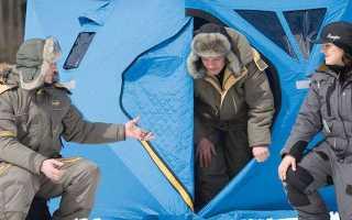 Палатка для зимней рыбалки: какую выбрать, рейтинг