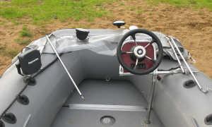 Рулевое управление на лодку своими руками – консоль для лодки